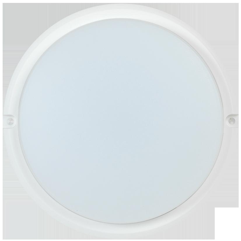 Светильник светодиодный ДПО 4001 8Вт 4000K IP54 круг белый IEK