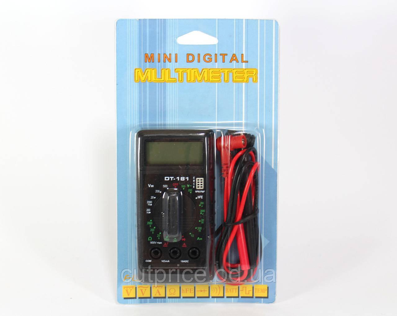 Мультиметр DT 181 (100) в уп.10 шт.