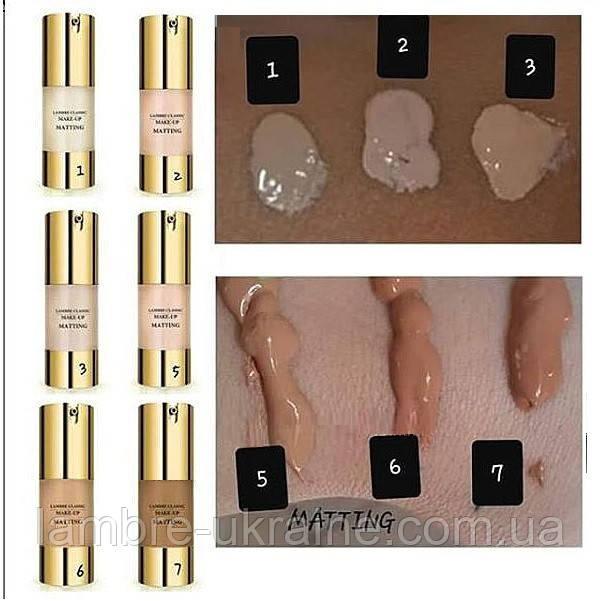 Тональный крем Matting make up № 7 - для смуглой кожи или загорелой