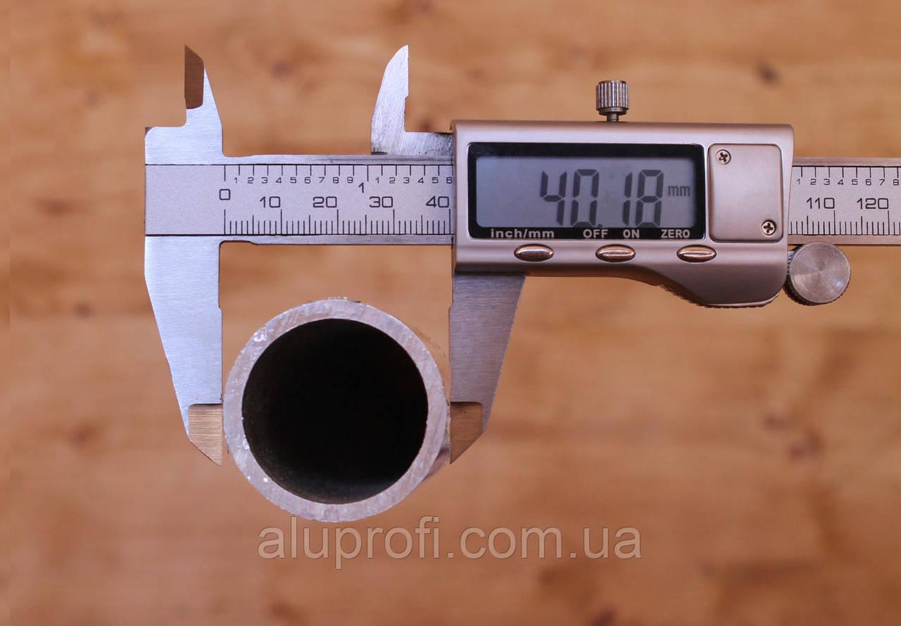 Труба  алюминиевая ф 40 мм (40х3мм) 6060
