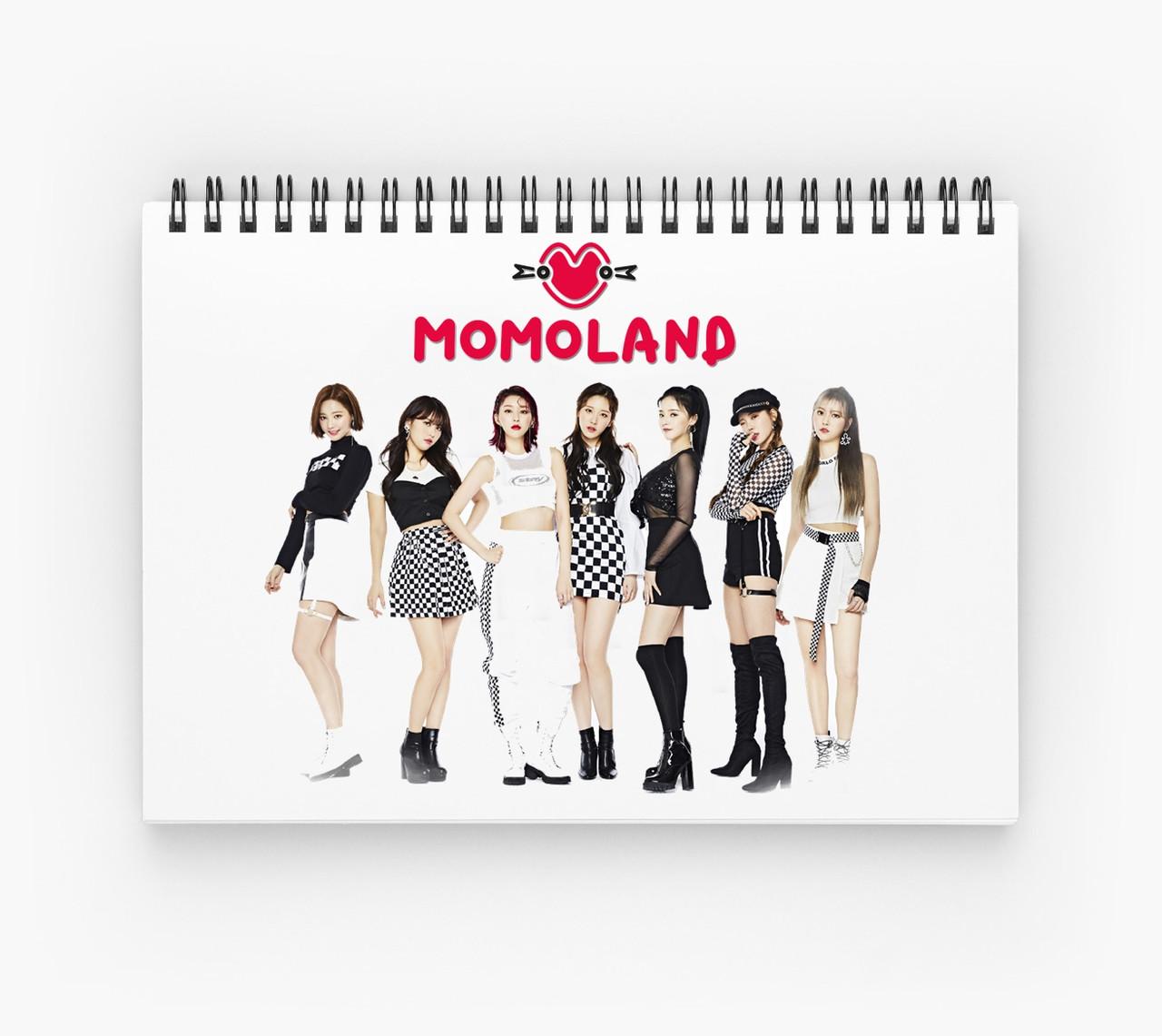 Блокнот MOMOLAND 3
