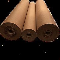 Крафт папір бумага 64 см *50 метров, пл. 70 г/м2, коричневая упаковочная оберточная рулон  марка Е Беларусь