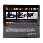 Налобный фонарь High Power Headlamp 3xT6, фото 3