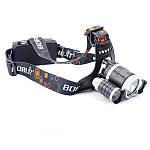 Налобный фонарь High Power Headlamp 3xT6, фото 7