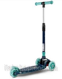 Трехколесный самокат Caretero Carbon Toyz Синий