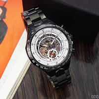 Часы Winner 8067 Black-White Red Cristal