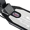 Детский Самокат 001PX складной руль колёса PU 200 мм амортизаторы дисковый тормоз цвет черный, фото 3