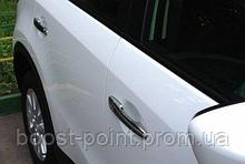 Хром накладки на дверные ручки (нерж) Mazda cx-5 (мазда сх-5 2017г+)