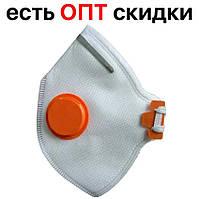 Защитная маска респиратор Спектр 2К FFP2 (клапан, фиксатор для переносицы), фото 1