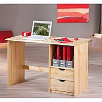 Стол письменный из натурального дерева 025