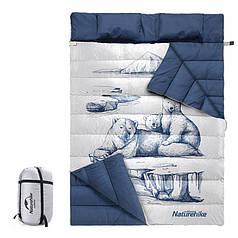 Спальный мешок двойной NatureHike Белый медведь NH19S016-D