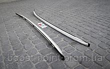"""Рейлинги хром """"оригинал"""" металлические наконечники Mazda cx-5 (мазда сх-5 2017г+)"""