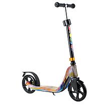 Cамокат 280 колёса PU 180 мм материал пластик+металл цвет красивое  граффити 3, фото 2