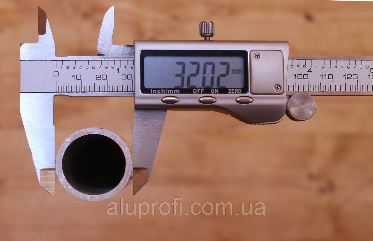 Труба  алюминиевая ф32 мм (32х2,5) АД31, 6060