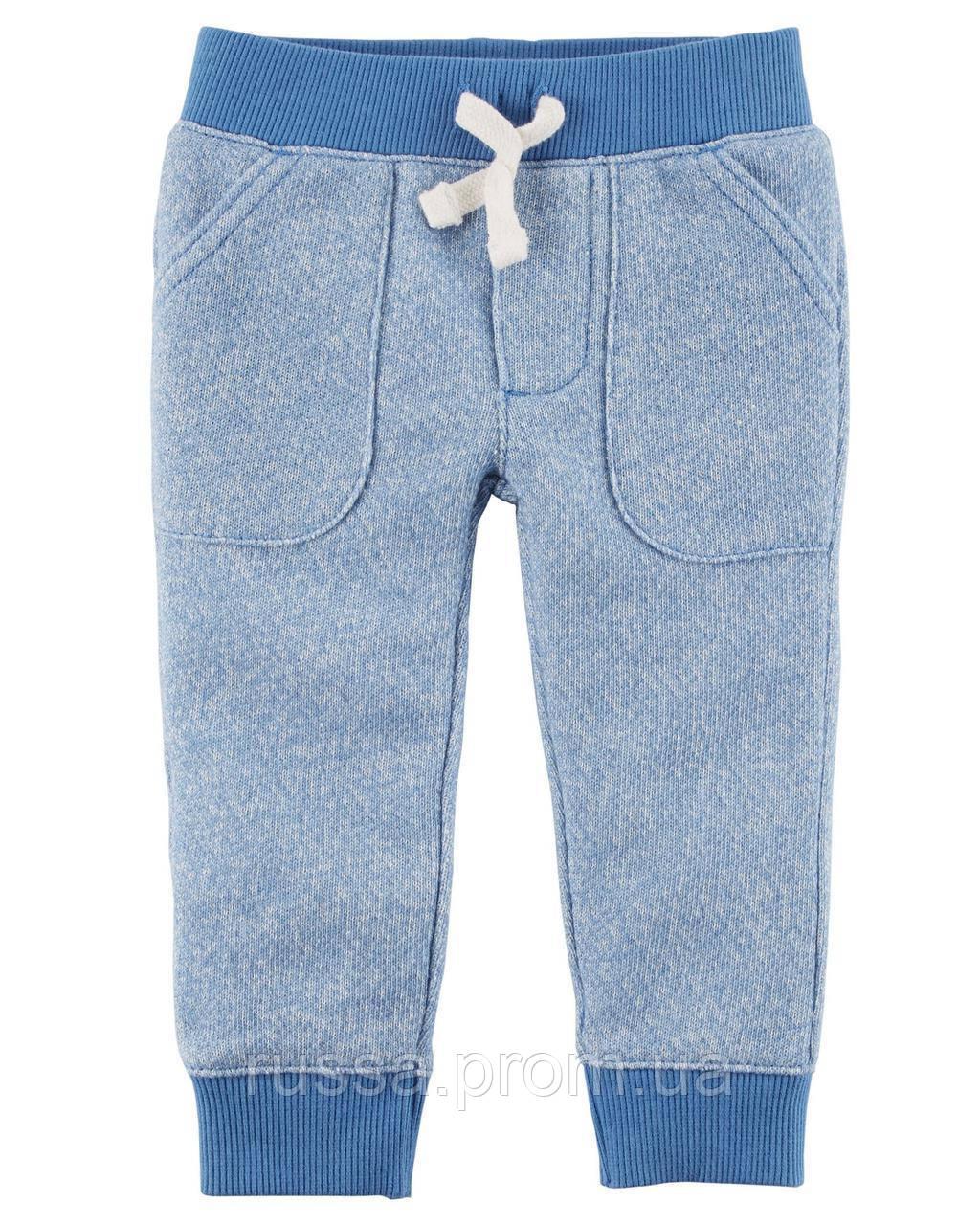 Детские трикотажные штанишки из футера Картерс для мальчика