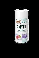 Сухой корм для взрослых кошек для выведения шерсти Утка 650 г OPTIMEAL ОПТИМИЛ