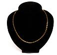 Золотая цепочка Якорная круглая 65 см УЦЕНКА, фото 3