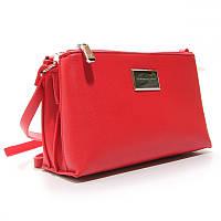 Красная женская сумка-клатч через плечо маленькая кросс-боди Diana&Co, фото 1