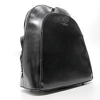 Черный рюкзак dic-1631 bla молодежная сумка трансформер через плечо Diana&Co, фото 1