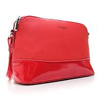 Красная женская сумка через плечо маленькая молодежная Diana&Co, фото 1