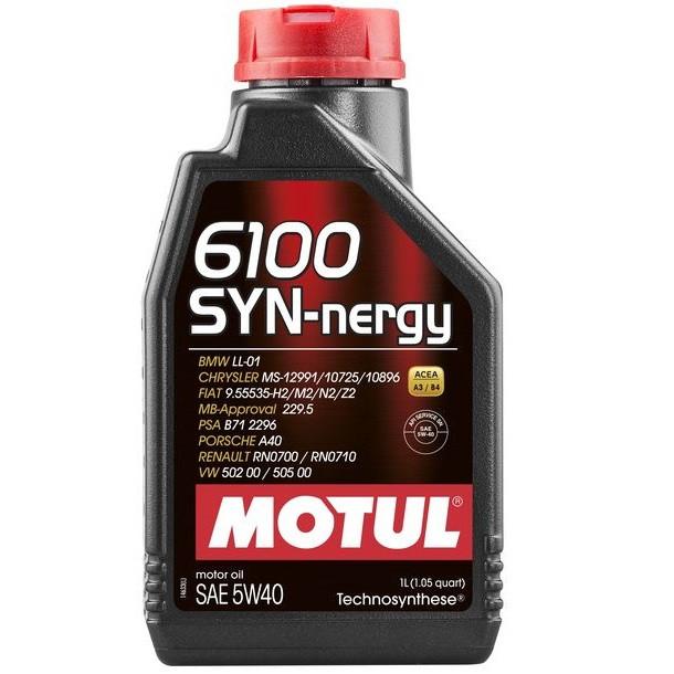 Масло моторне Technosynthese д/авто MOTUL 6100 Syn-nergy SAE 5W40 1л. 107975/368311