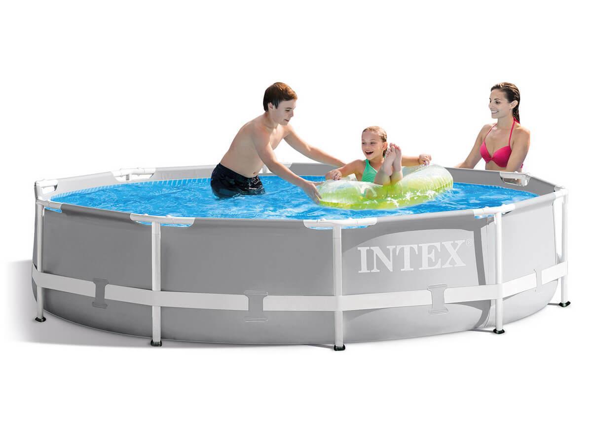 Круглый каркасный бассейн Intex, 4485 л.