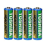 Батарейка солевая TOSHIBA Heavy Duty R6 AA ( 4 шт )