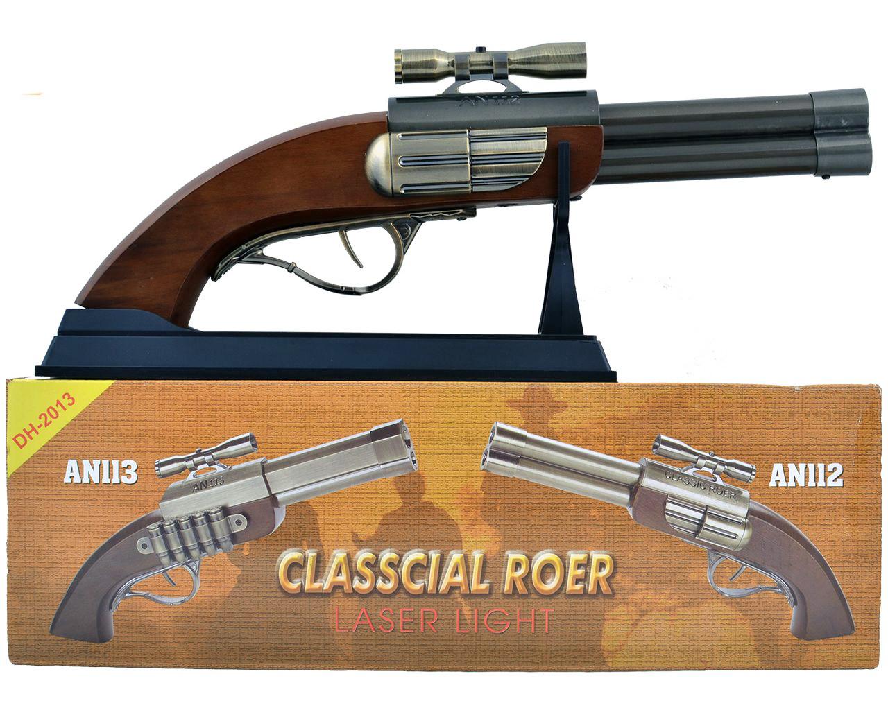 Зажигалка сувенирная в виде Револьвера