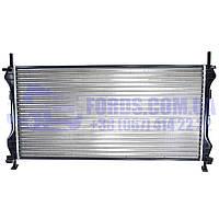 Радиатор двигателя FORD TRANSIT 2000-2006 (2.0TDCI) (1671800/ME1C1H8005JE/D7G006TT) THERMOTEC