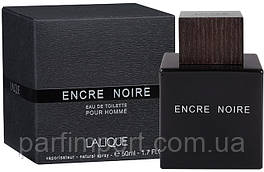 LALIQUE Encre Noire EDT 50 ml туалетная вода мужская (оригинал подлинник  Франция)