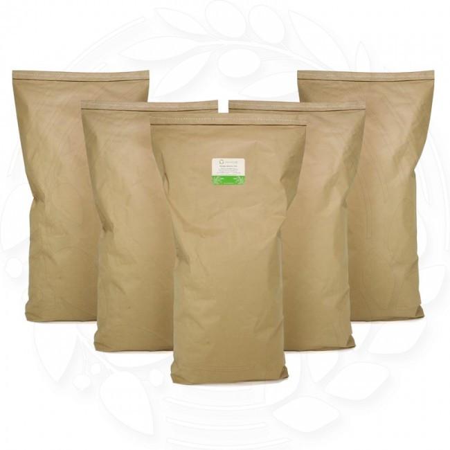 Нутовая жерновая мука 100 кг сертифицированная без ГМО змельчения нута жерновым мето