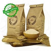 Вівсяне цільнозернове жорнове борошно 0.5 кг сертифіковане без ГМО