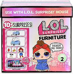 Стильний інтер'єр Дорожнє подорож з Техно Леді L. O. L. Surprise Furniture 2 Road Trip with Baby Can Do MGA