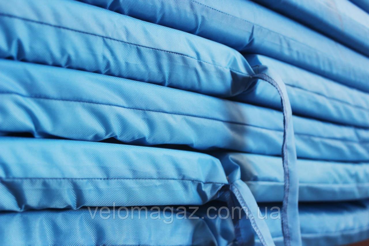 Матрац для шезлонга 186*55*4 см, однотонний блакитний