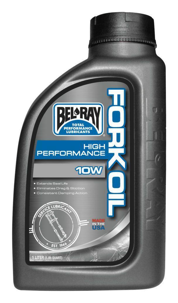 Масло для вилки Bel-Ray High Perf Fork Oil 10W (1л)