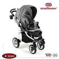 Детская прогулочная коляска Adbor Vero VE-06 Серая