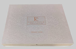 First Choice Комплект постельного Satin Delux  New Trend Koyu Pudra 200*220, фото 2