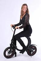 Складной электрический велосипед 14 дюймов колеса (36V / 6Aч - 300W)
