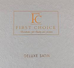 First Choice Комплект постільної Satin Delux Novel Line Badem 200*220, фото 2