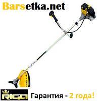 Бензокоса Riga 5800 (нож 3 лопасти, катушка с леской, победитовый нож, гарантия 2 года!)