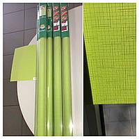 Готовые Рулонные шторы Роллеты Жалюзи Зелёный Лён 2160