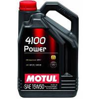 Масло моторное Technosynthese д/авто MOTUL 4100 Power SAE 15W50 5л. 100273/386206