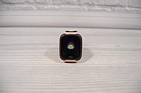 Детские наручные умные часы Smart Watch F2(GPS + SOS+родительский контроль + фонарик)розовые, фото 5