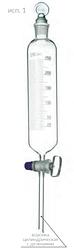 Лійка ділильна циліндрична з поділками Стеклоприбор ВД-1 500 мл (mdr_6569)