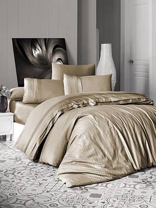 First Choice Комплект постельного Satin Delux Square Badem 200*220, фото 2