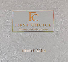 First Choice Комплект постельного Satin Delux SQUARE TOPRAK 200*220, фото 2
