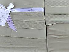 First Choice Комплект постільної Satin Delux SQUARE YESIL 200*220, фото 2