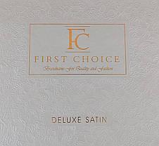 First Choice Комплект постільної Satin Delux SQUARE YESIL 200*220, фото 3