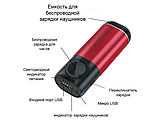 Power Bank 3 в 1 (Iphone Apple Watch AirPods) Сірий, фото 2