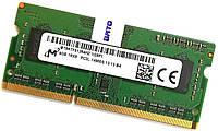 Оперативная память для ноутбука Micron SODIMM DDR3L 4Gb 1866MHz PC3L-14900S CL13 (MT8KTF51264HZ-1G9P1) Новая!, фото 1